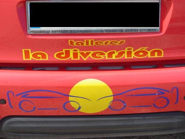 Foto 12 de Talleres de chapa y pintura en  | Talleres La Diversión