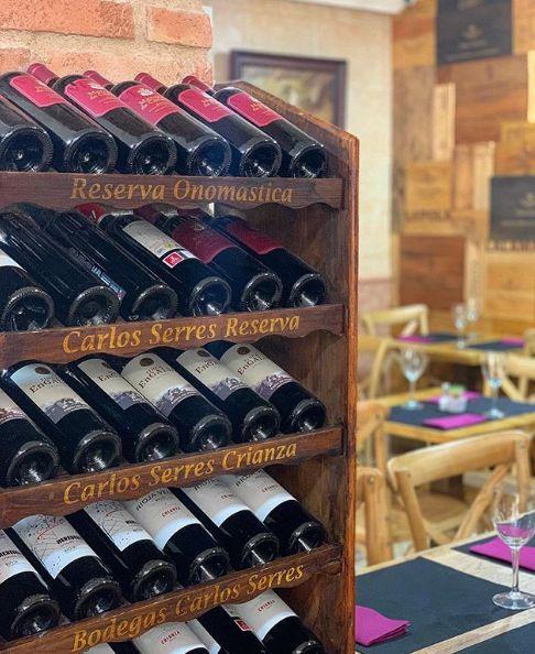 Vinos rosados: Carta de Restaurante Casa Ibarra