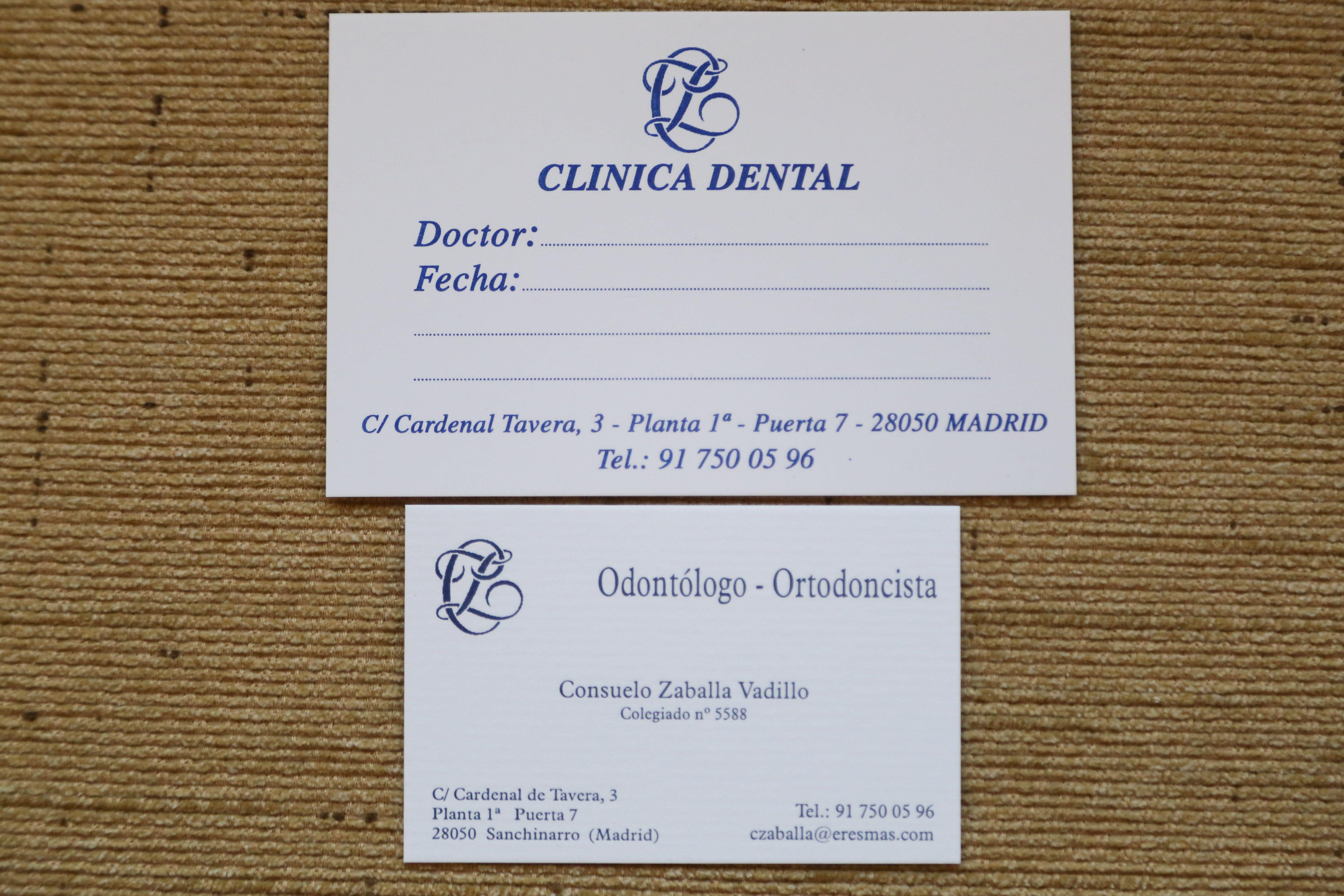 Foto 6 de Dentistas en Madrid   Clínica Dental Dra. Consuelo Zaballa