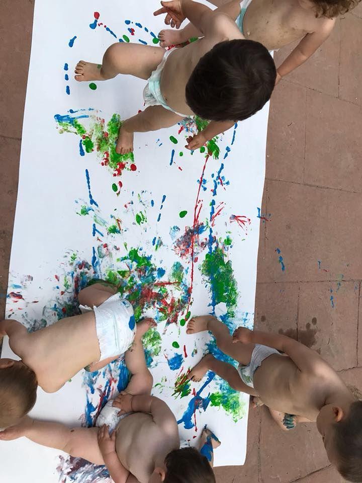 Pequeños pintores como Miró en Les Franqueses del Vallès