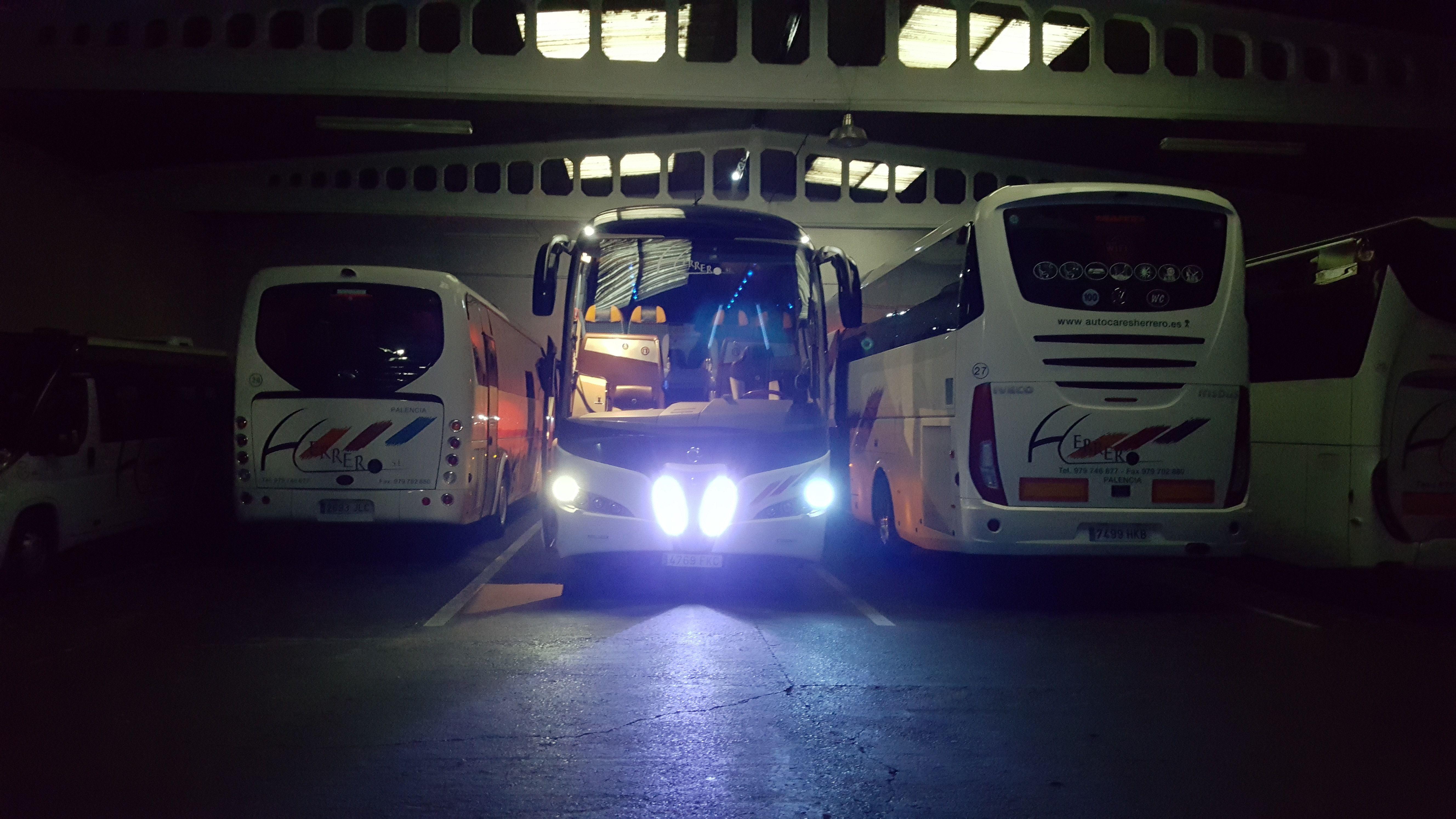 Presupuesto alquiler autocar en Palencia