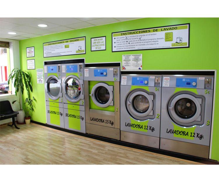 Máquinas de lavado de ropa