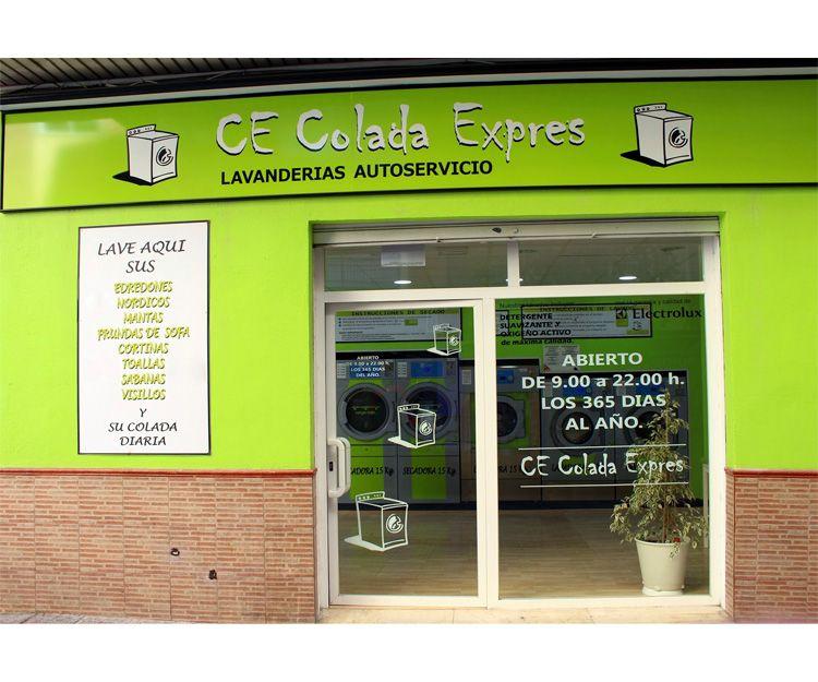 Lavandería autoservicio en Granada