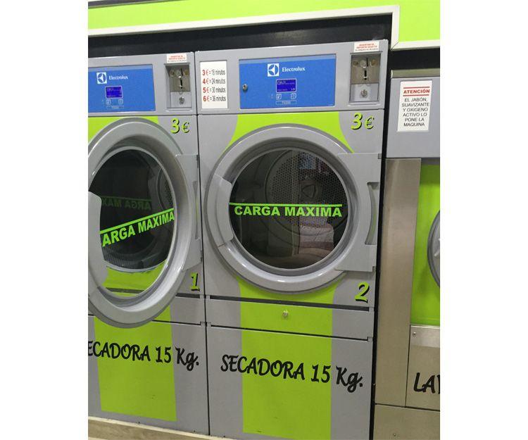 Secadoras de nuestra lavandería