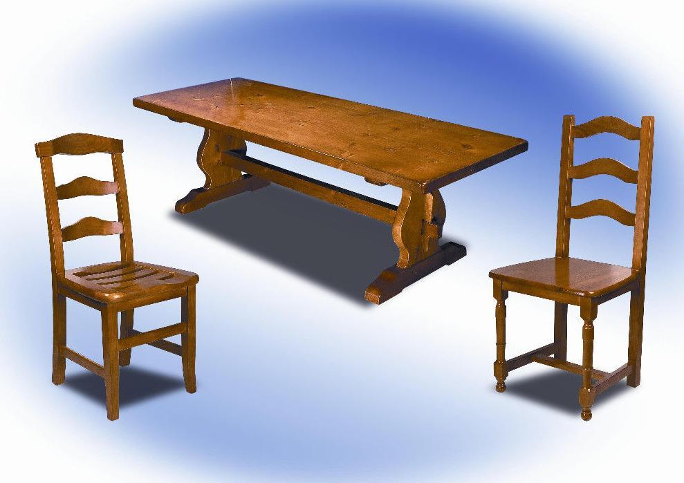 Mesa y sillas modelo Venecia