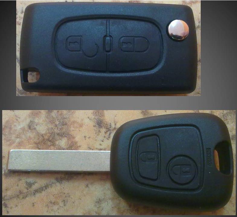Mandos + llave coche