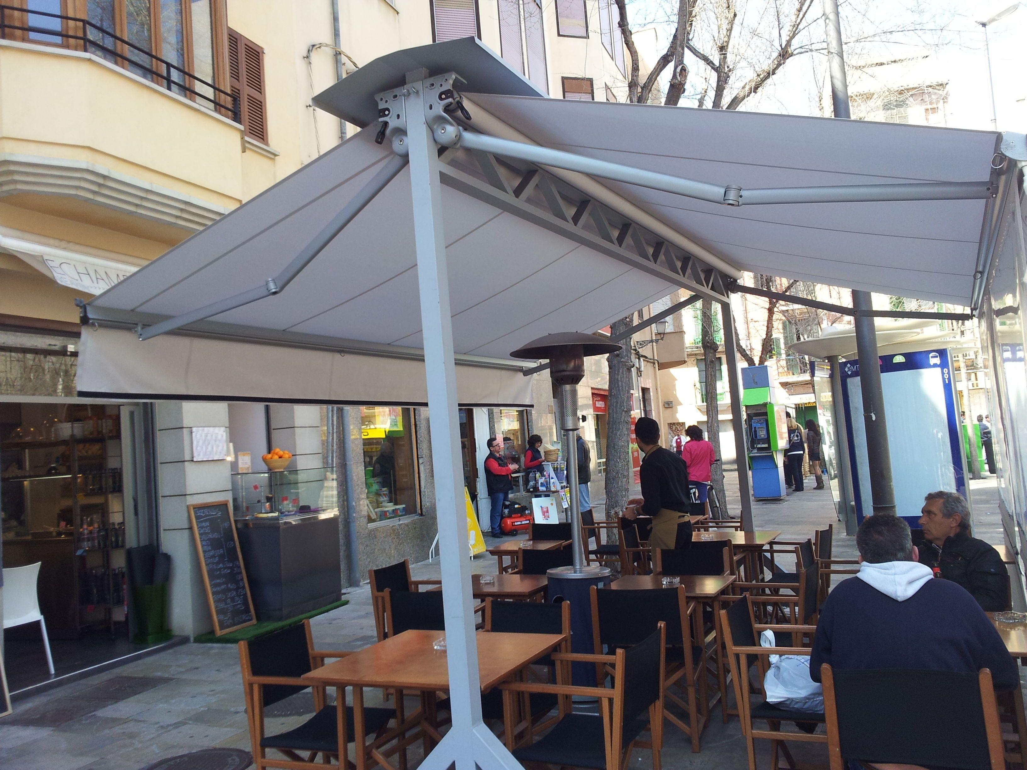 Foto 7 de toldos y p rgolas en palma de mallorca toldos soto - Toldos terrazas bares ...