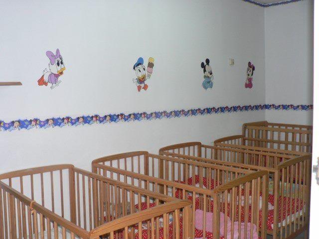 Zona de descanso para los bebés