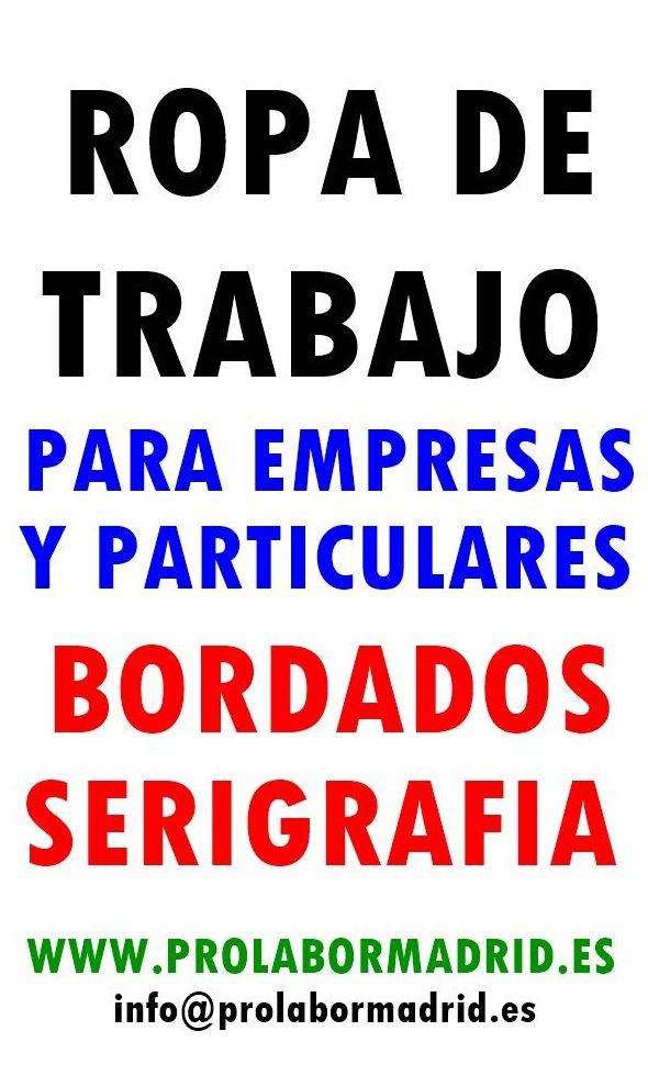 Foto 4 de Ropa de trabajo y uniformes en Getafe | Prolabor/Madrid