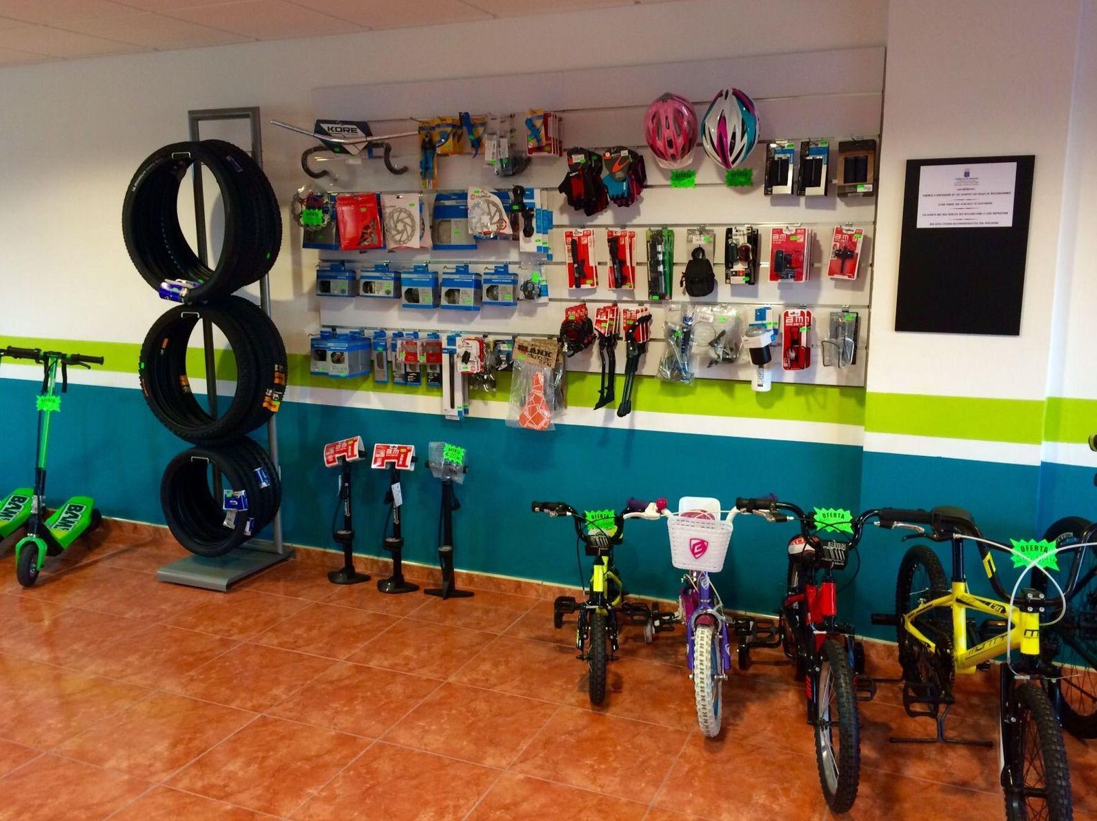 Bicicletas para niños en San Isidro (Tenerife sur)