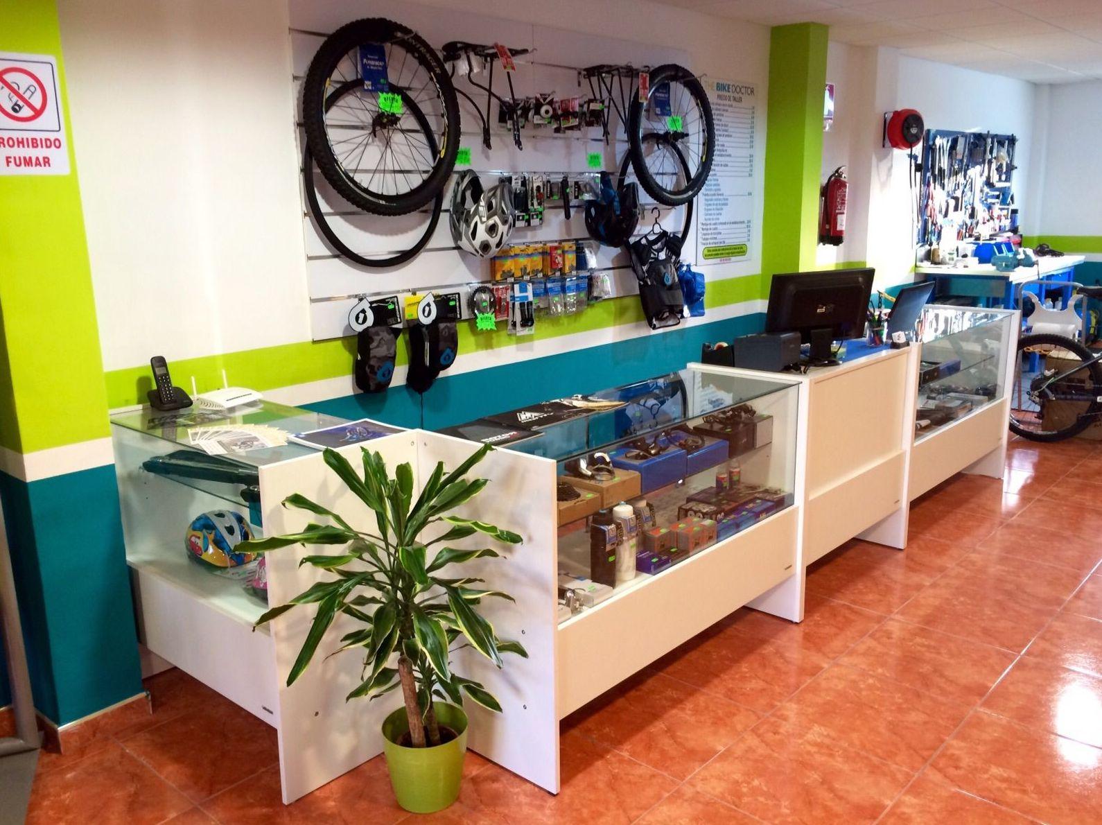 Tienda de bicis en San Isidro