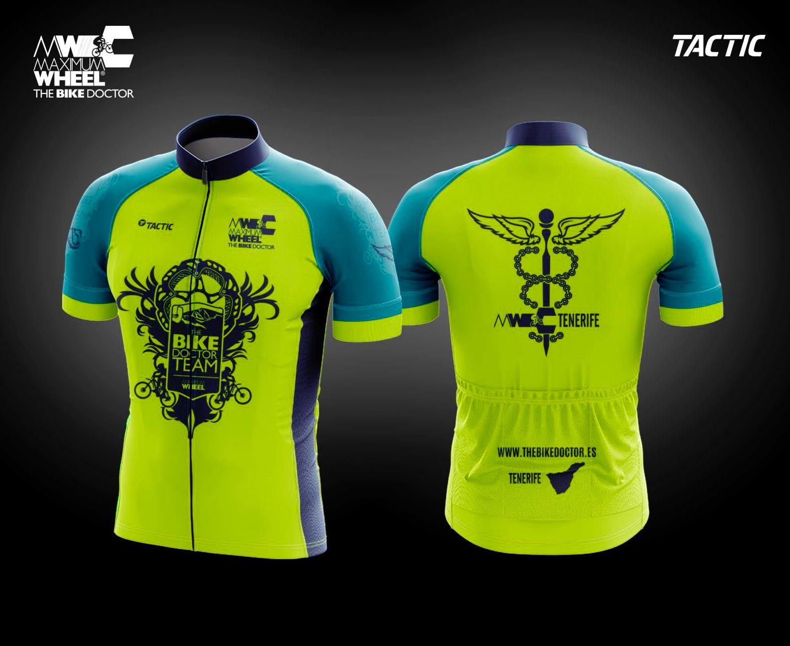 Equipación Bike Doctor team .