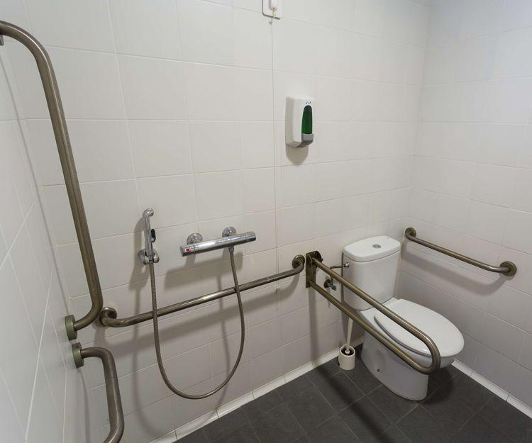 Residencia equipada para personas con movilidad reducida