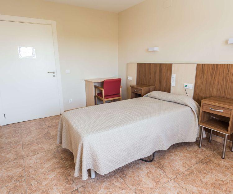 Habitación individual totalmente equipada