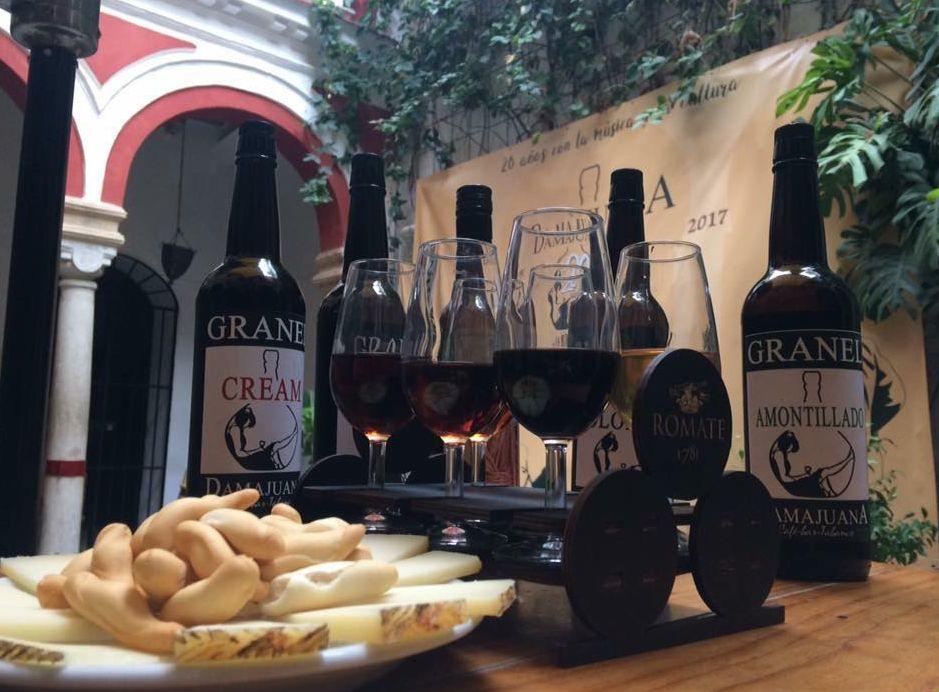 Bar de tapas en Jerez de la Frontera