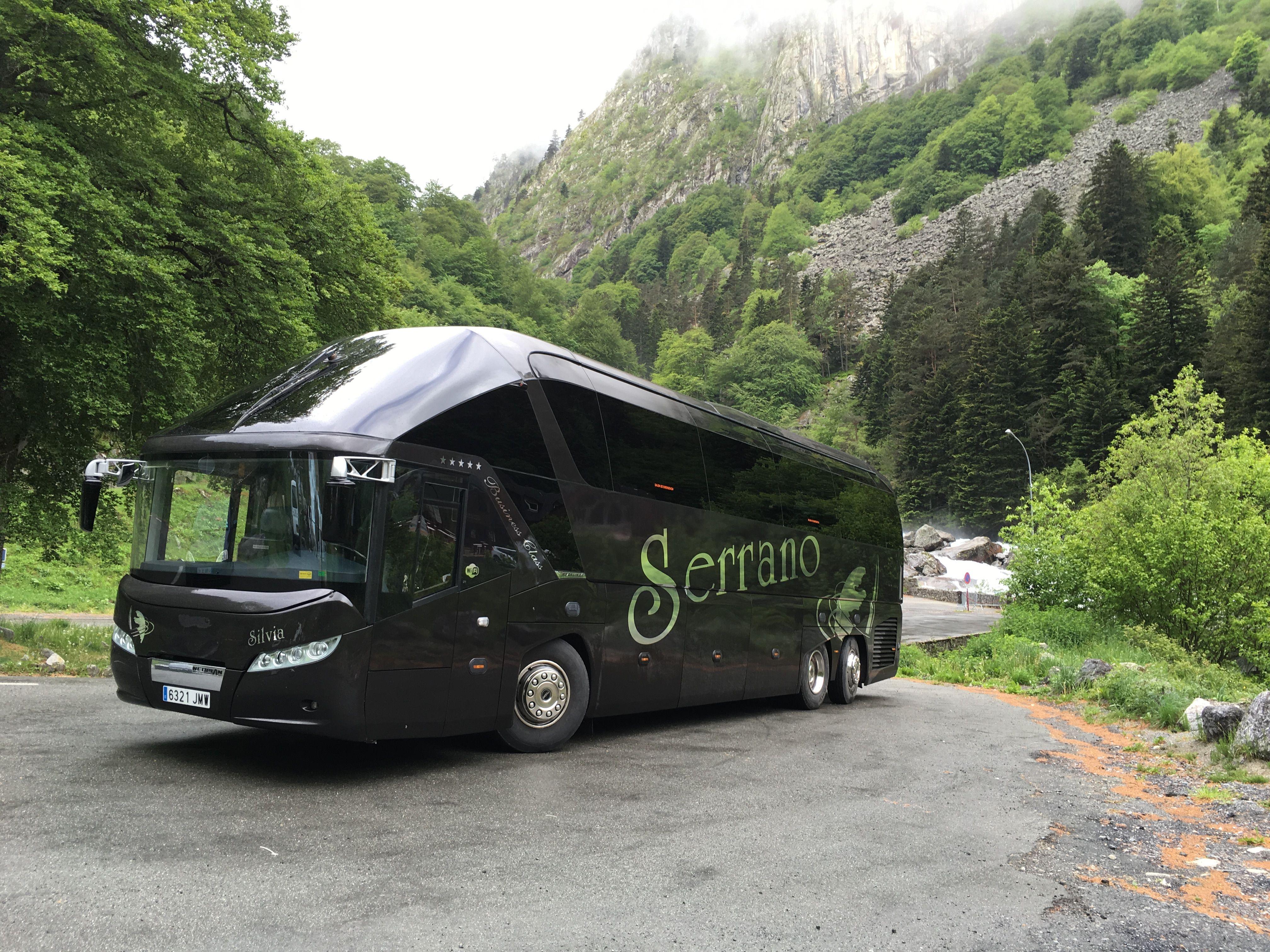 Autocares para visitas turísticas