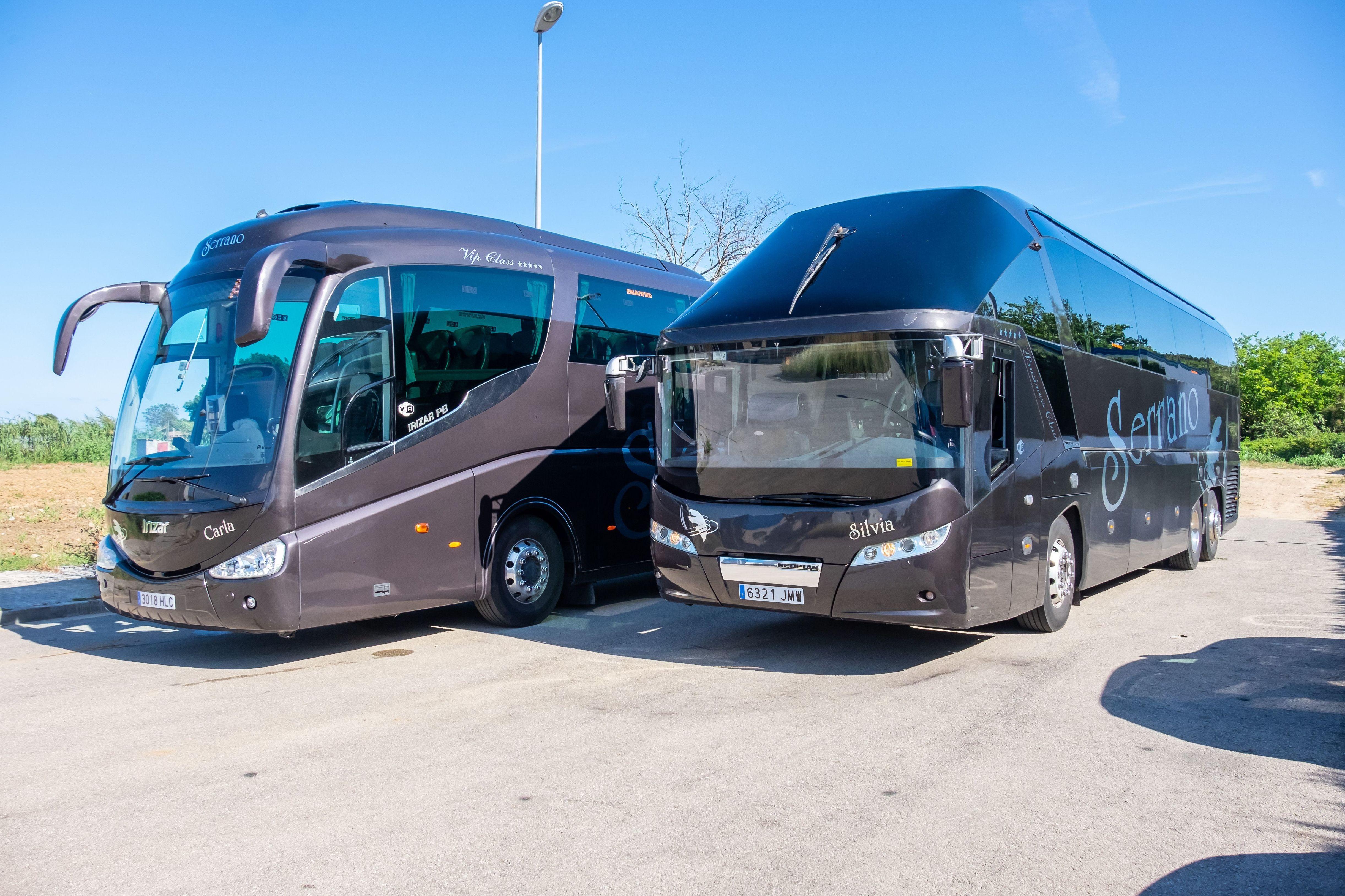 Alquiler de autobuses con conductor