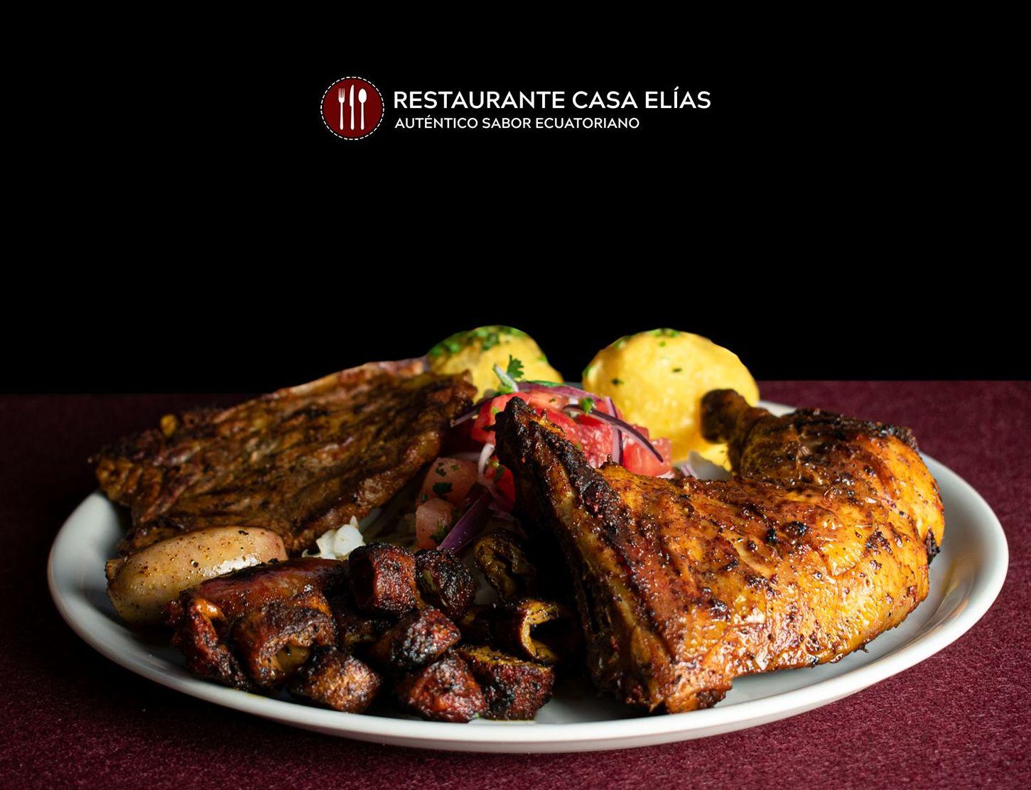 Parrillada Completa al carbón: Carta de Restaurante Casa Elías