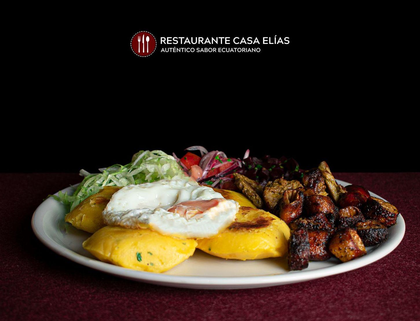 Yapingacho Completo : Carta de Restaurante Casa Elías