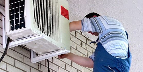 Reparación y mantenimiento de aire acondicionado