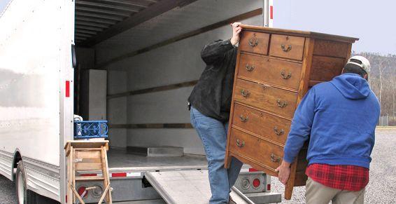 Recogida de muebles usados: Servicios de Mudanzas Ebenezer