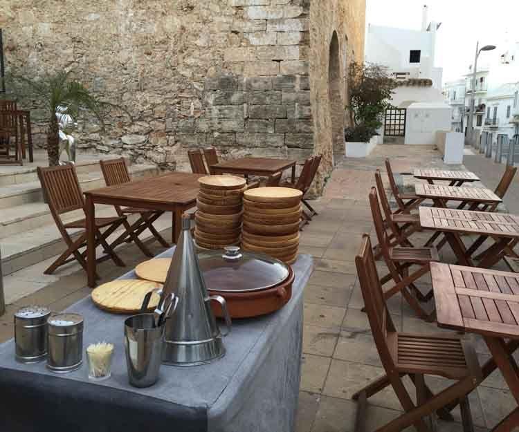 Pulpo para celebraciones en Ibiza