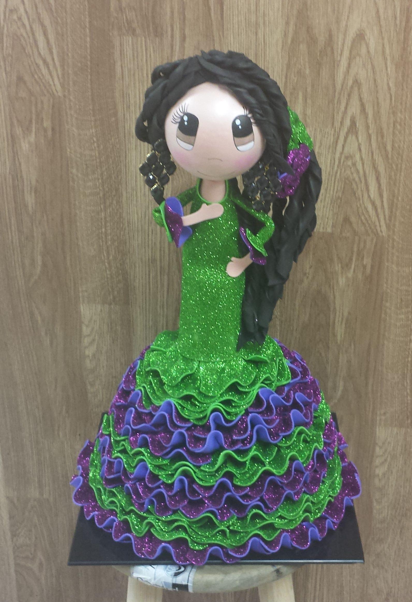flamenca de 50cm