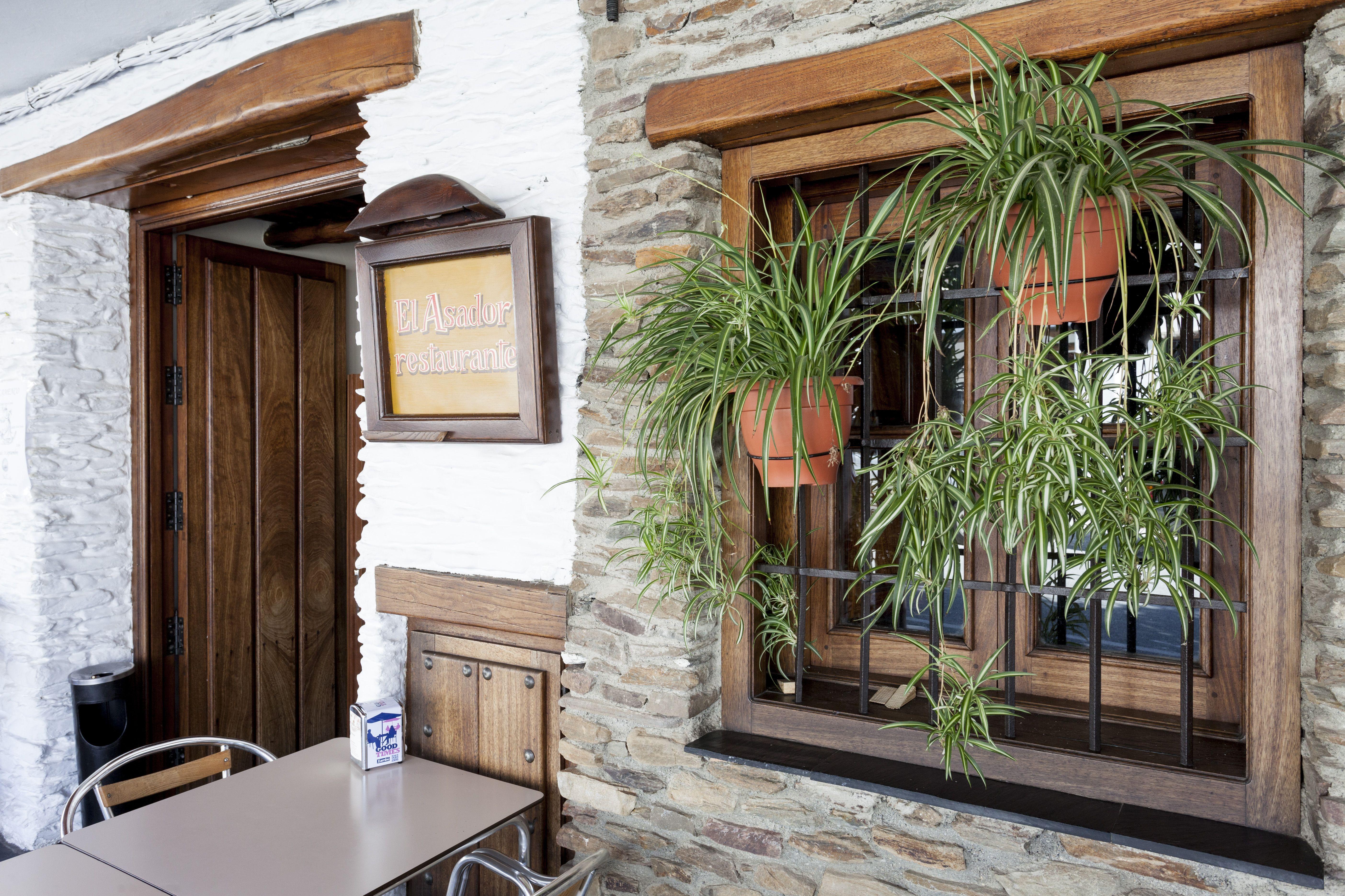 El Asador, restaurante en Capileira, Granada