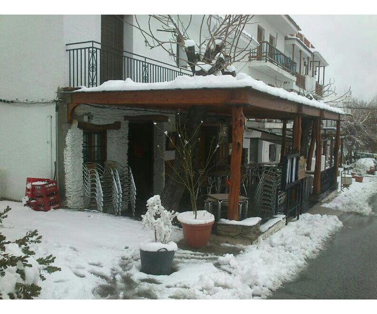 Nuestro restaurante en invierno