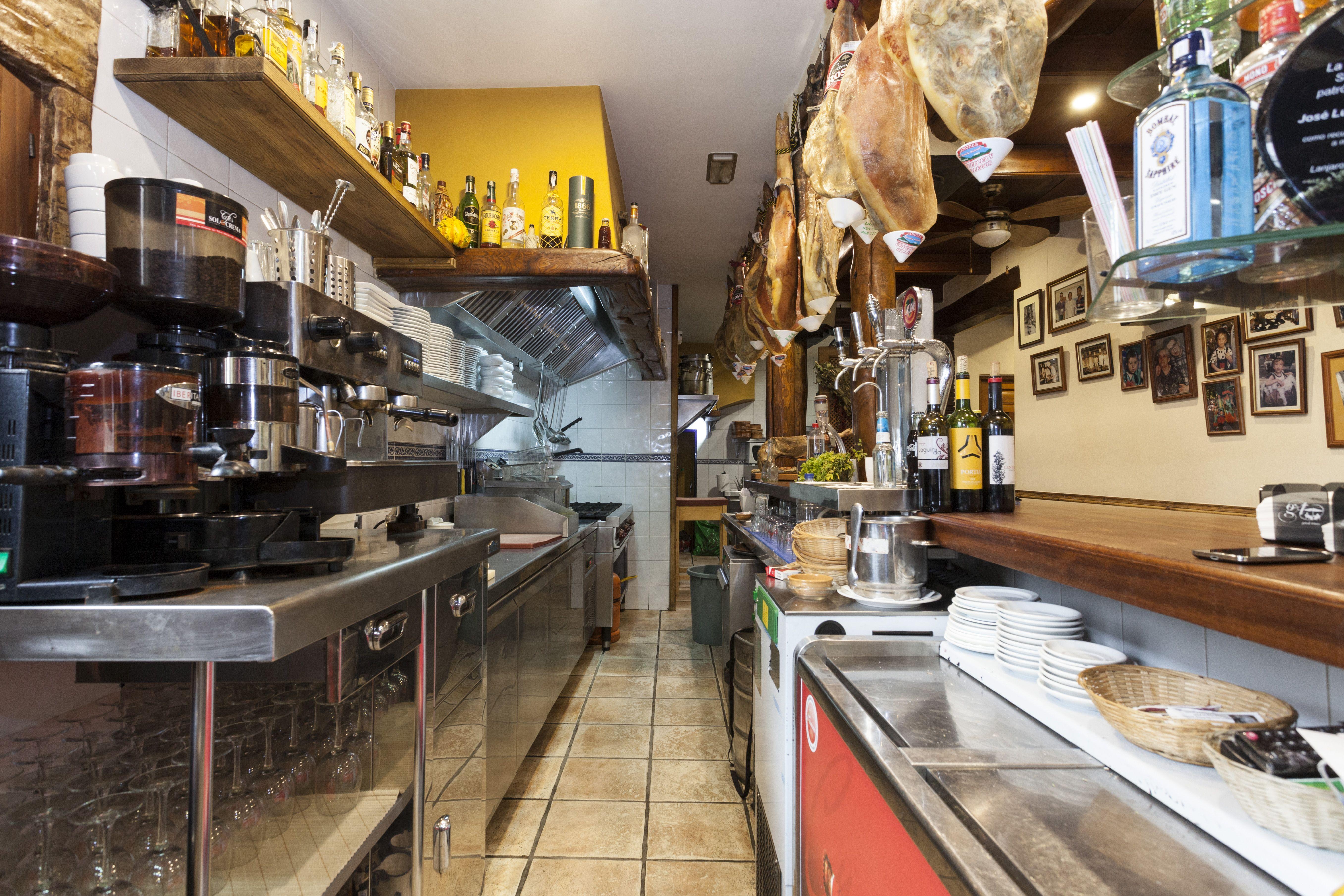 Restaurante con menú ecológico en Capileira