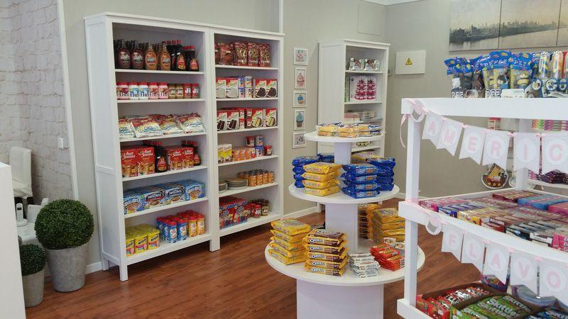 Productos de alimentación importados de EE.UU en Madrid
