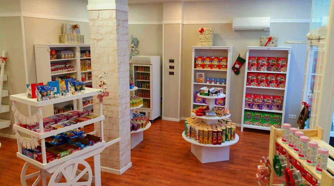 Tiendas de productos americanos en Madrid