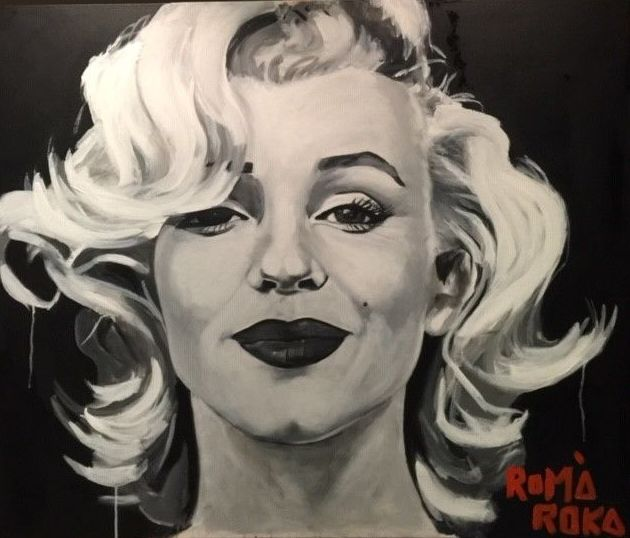 Marilyn. 100x120cm.oleo/tela. vendido.