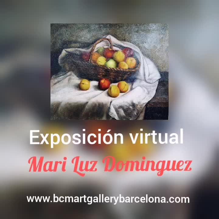Exposición virtual de naturalezas muertas de Mari Luz Domínguez }}