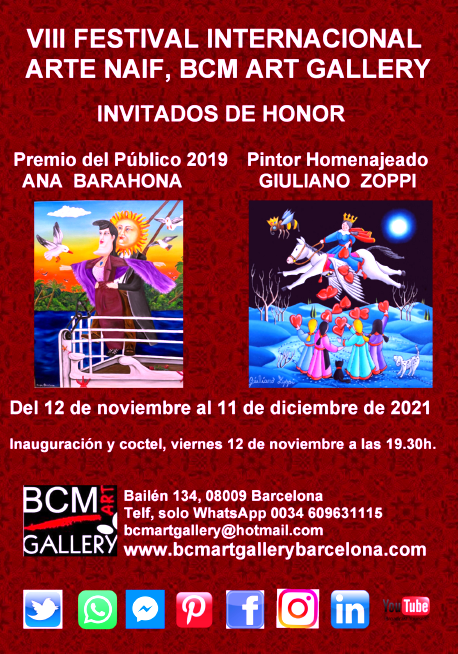 VIII FESTIVAL INTERNACIONAL DE ARTE NAIF: Exposiciones y artistas de MONTSERRAT BOSCH CAVEDO