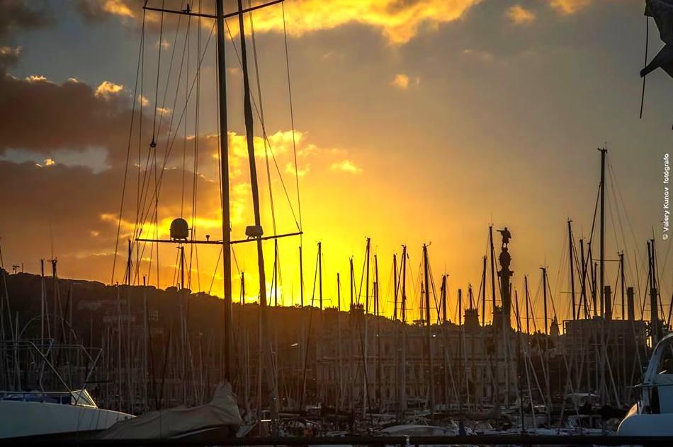 Puerto de Barcelona. Fotografía. Precio a consultar.