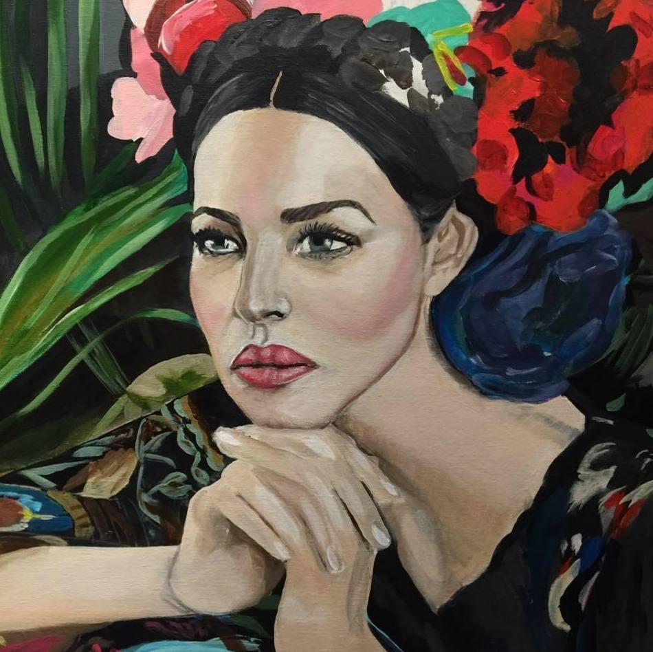 Frida. Pastel/paper. 500€.