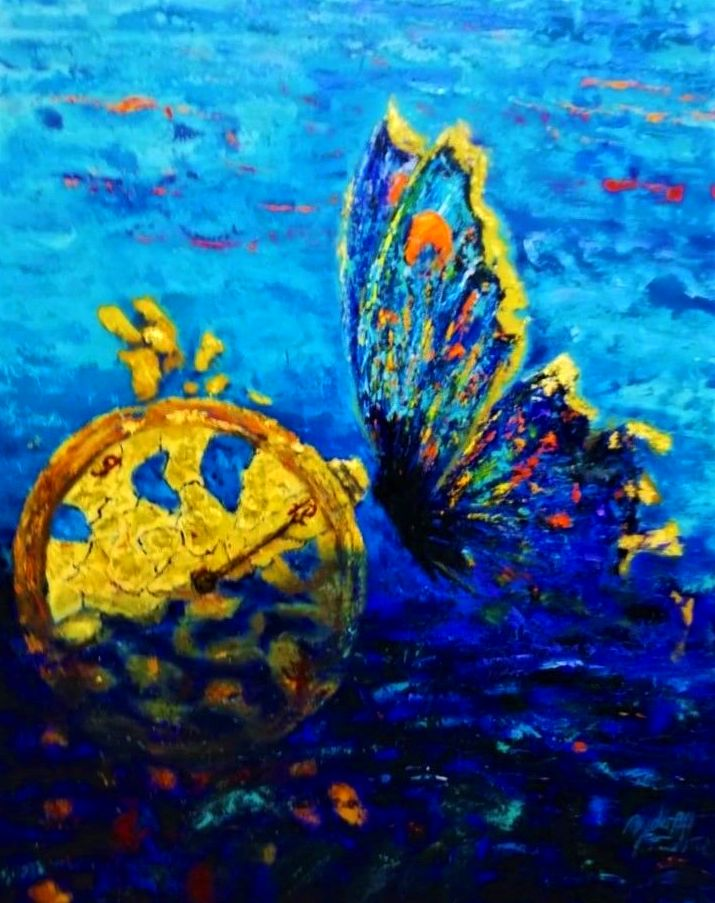 Mariposas, glicee, precio del original a consultar.