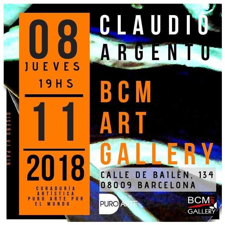 FALL 2018 y Exposición Individual de Claudio Argento: Exposiciones y artistas  de BCM Art Gallery
