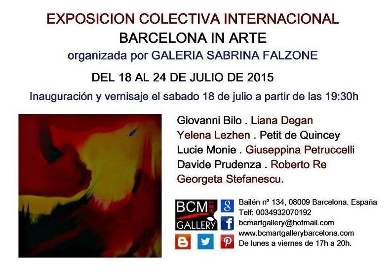 Exposición Colectiva Internacional y Exposición Individual de Bruno Carati : Exposiciones y artistas  de BCM Art Gallery