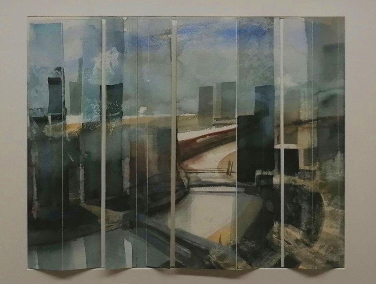 Finestra. 37x48cm. aquarella/paper. 750€.
