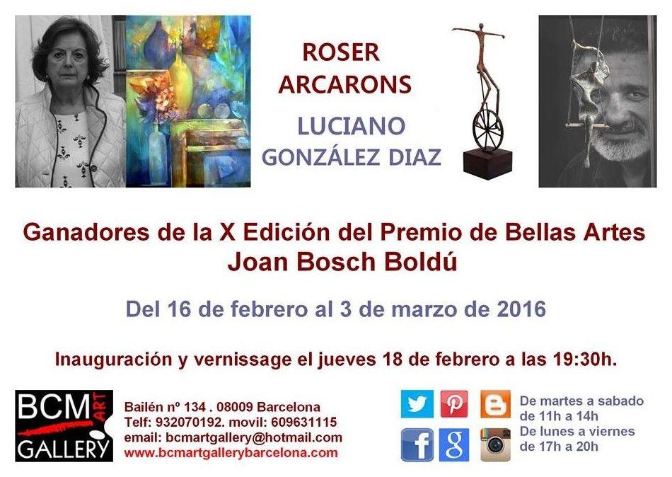 Ganadores Premio Joan Bosch 2015