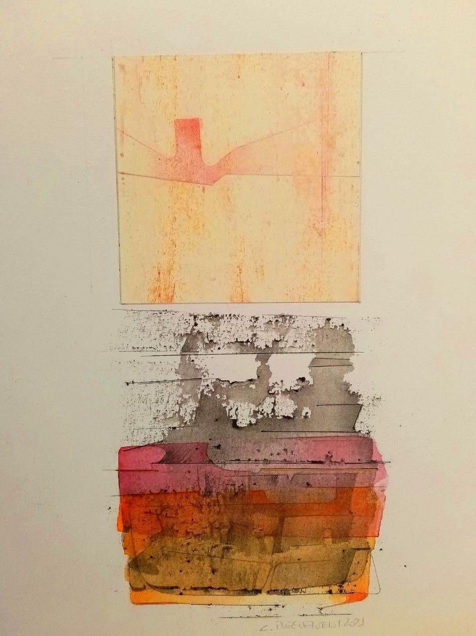 Composición.acuarela/papel.30x21cm.425€.
