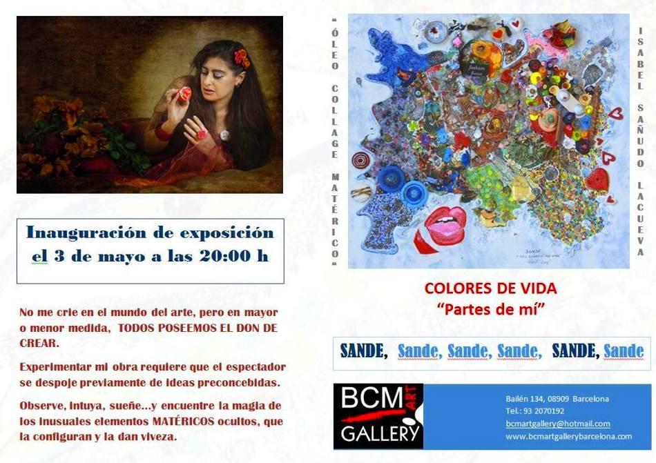 PARTES DE MI Exposición individual: Exposiciones y artistas  de BCM Art Gallery