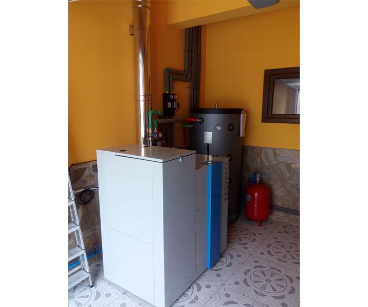 Venta e instalación de calderas de biomasa en Badajoz