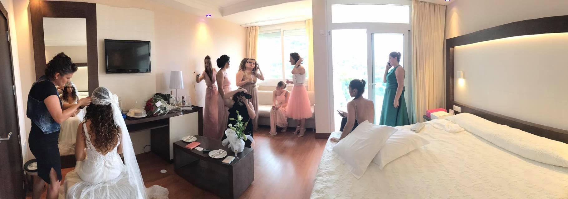 Peinado y maquillaje de novia en Palma de Mallorca
