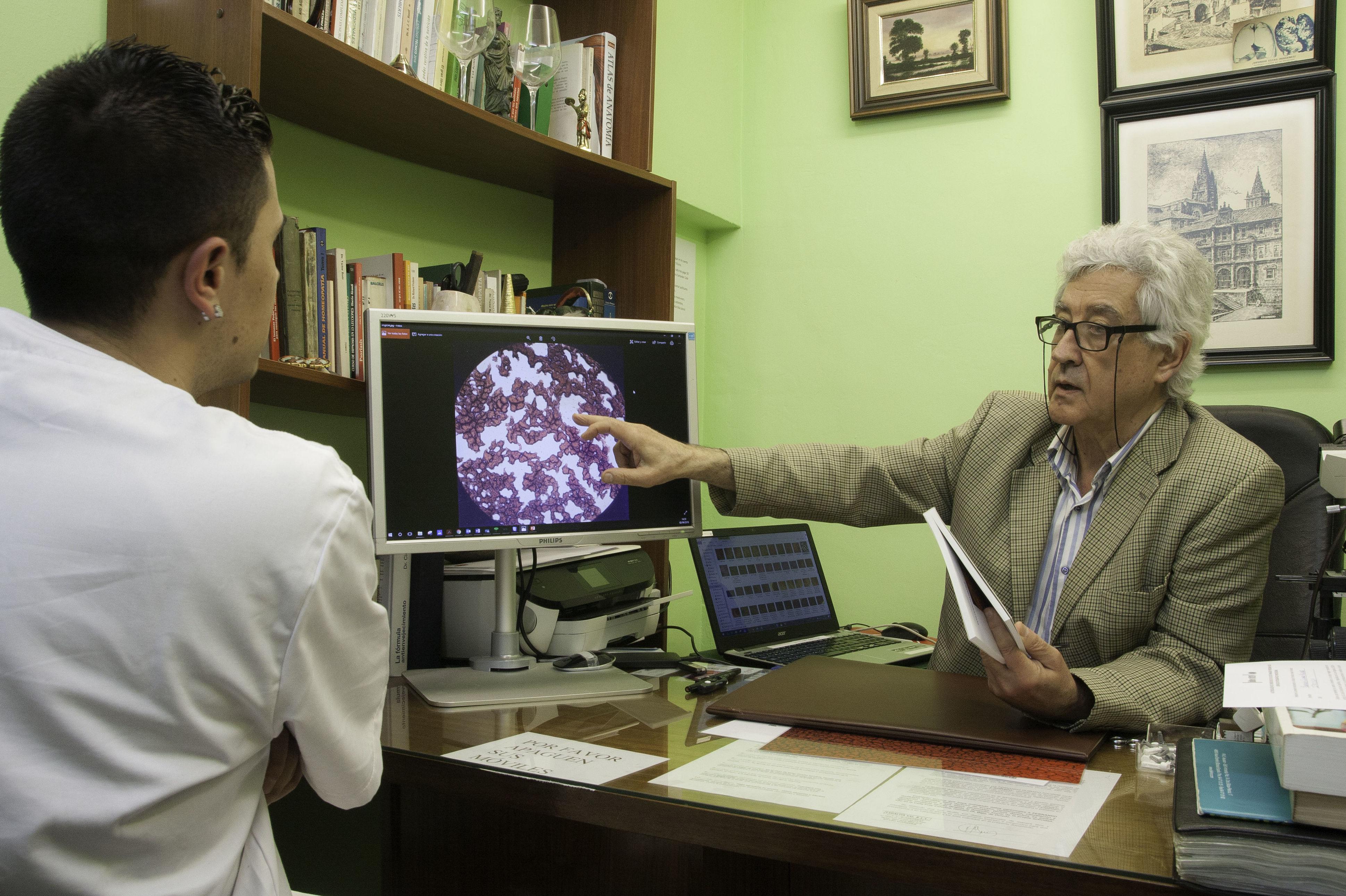 Test Hematográfico - Fernando Guirado / Medicina alopática