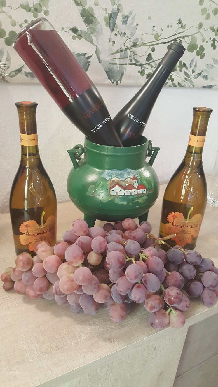 Carta de vinos en Tamames, Salamanca