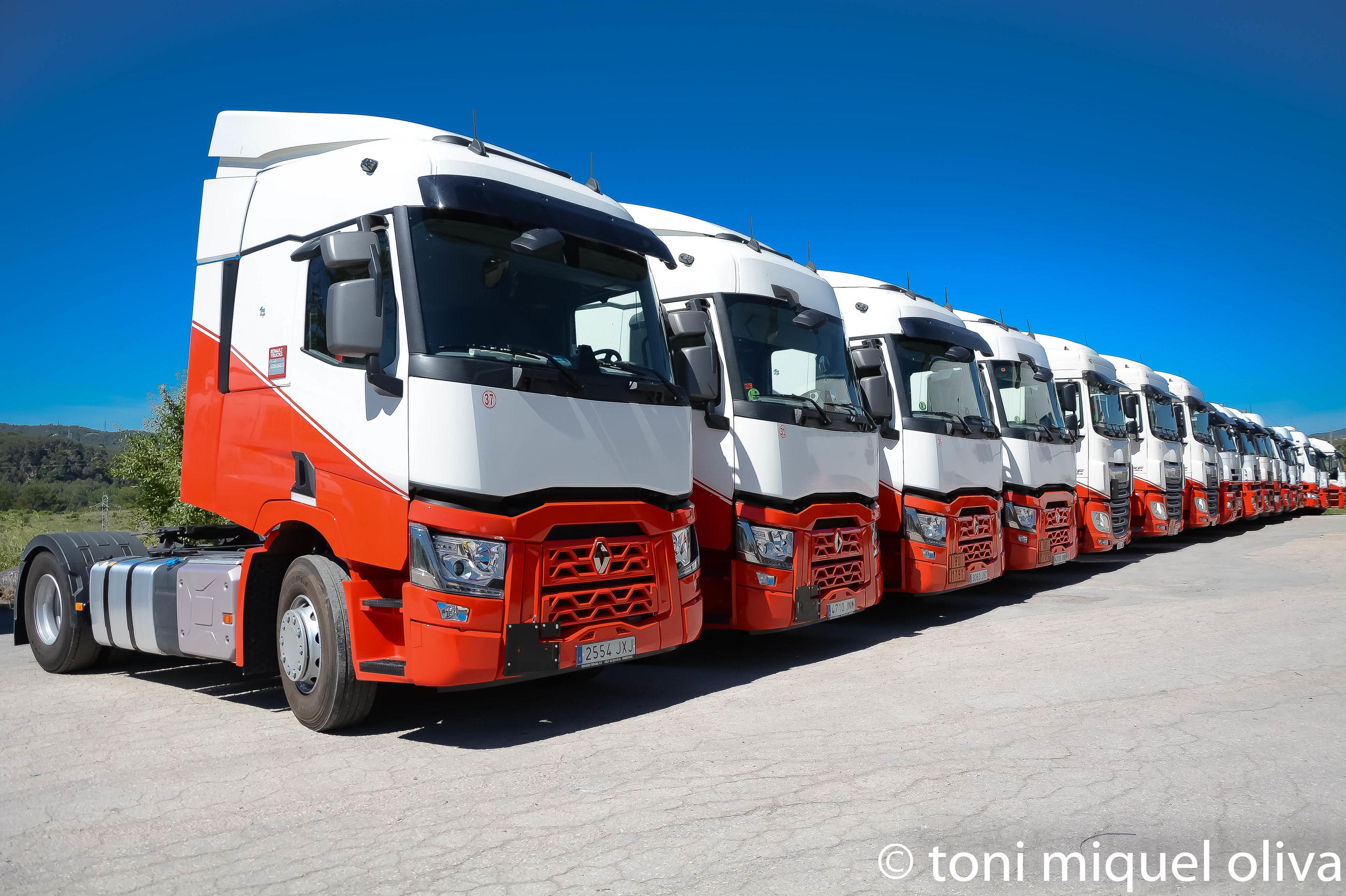 Transporte de productos químicos: Servicios de Transportes Flix, S.A.