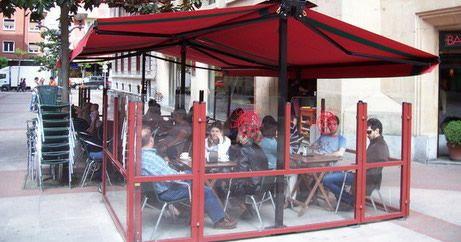 Toldos para bares en Bilbao
